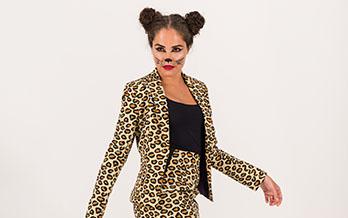 Catwoman Jaguar fasching