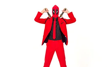 Karneval Deadpool outfit