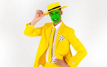 Mask Karneval Anzug