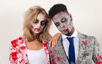 Zombies karneval anzug